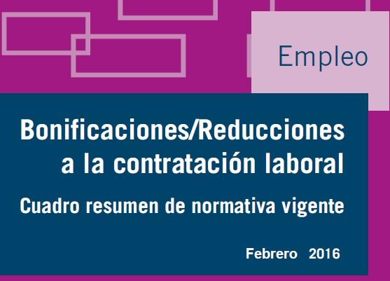 Bonificaciones seguridad social 2016 for Contrato trabajo empleada de hogar 2016