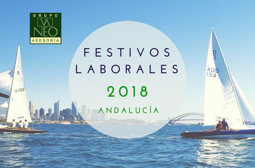 Festivos Laborales en Andalucía 2018