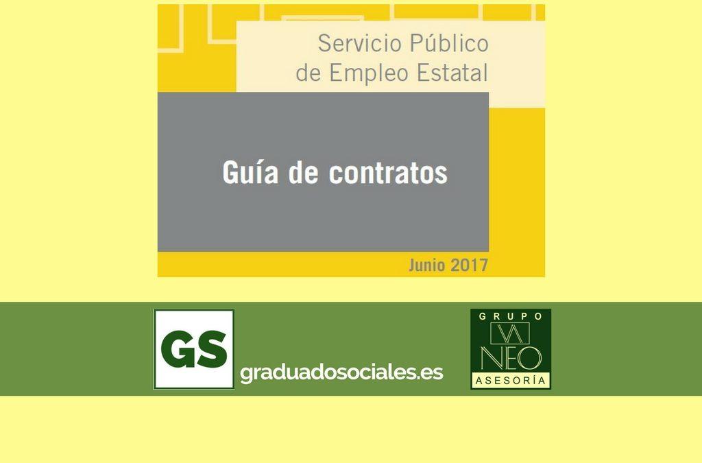Guía de contratos de trabajo: JUNIO 2017