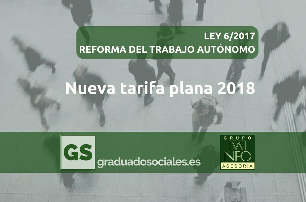 Nueva Tarifa Plana 2018