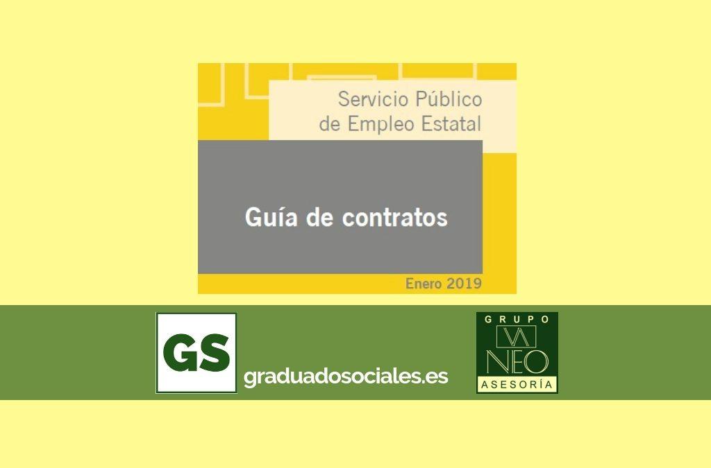 Guía de contratos de trabajo: ENERO 2019