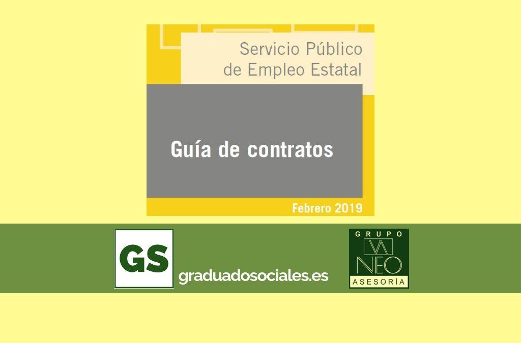 Guía de contratos de trabajo: FEBRERO 2019