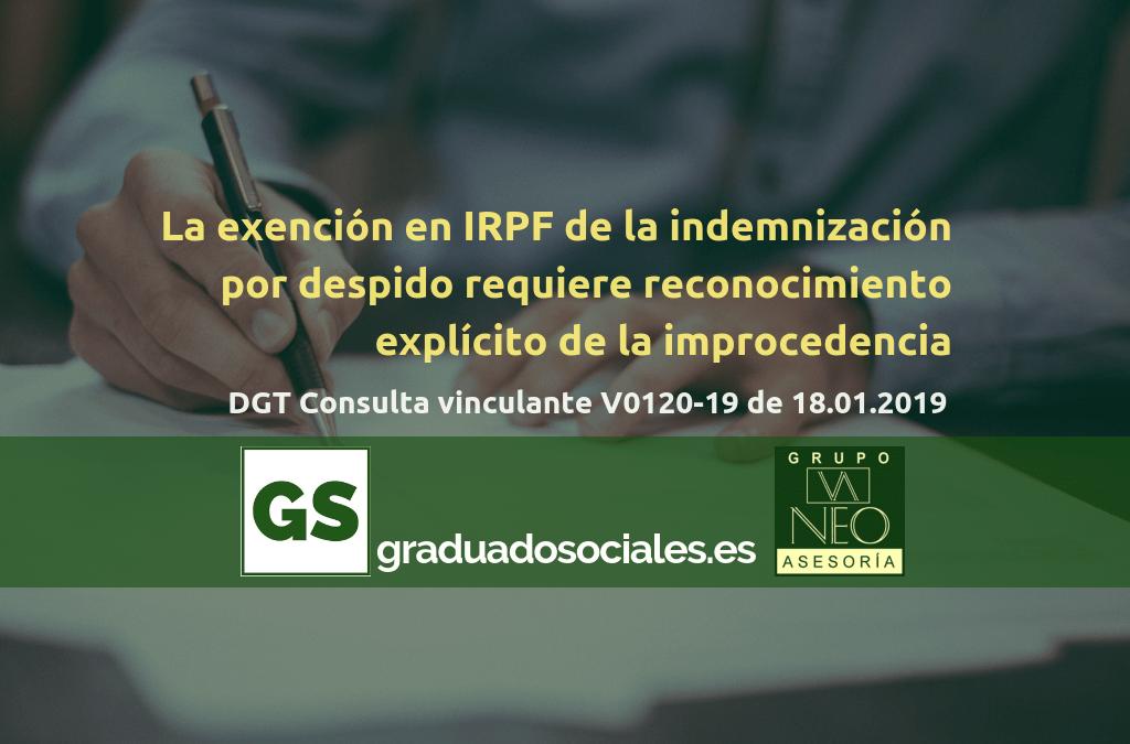 indemnizacion_exenta_reconocimiento_explicito_improcedencia