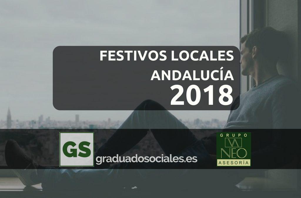 Festivos Locales Andalucía 2018