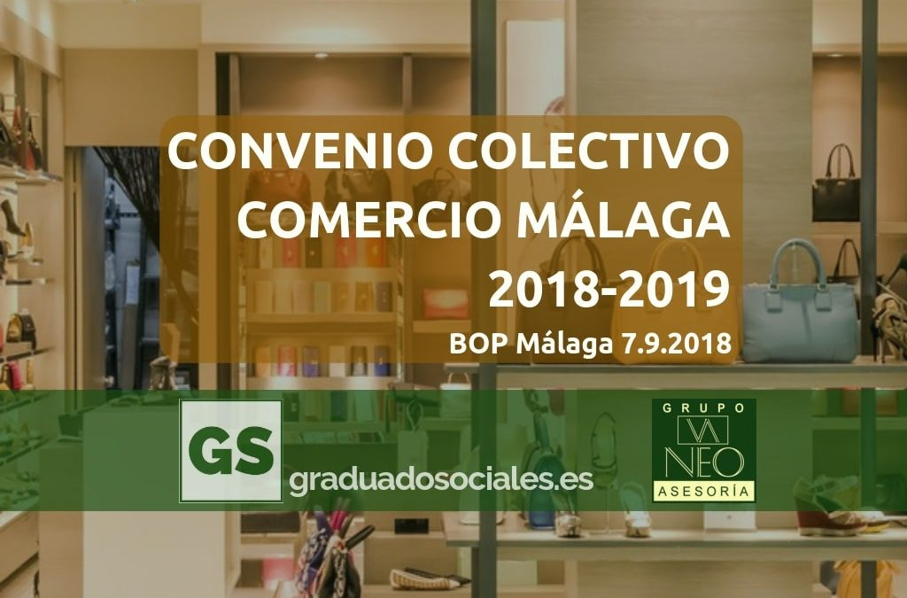 Convenio Colectivo Comercio Málaga 2018-2019