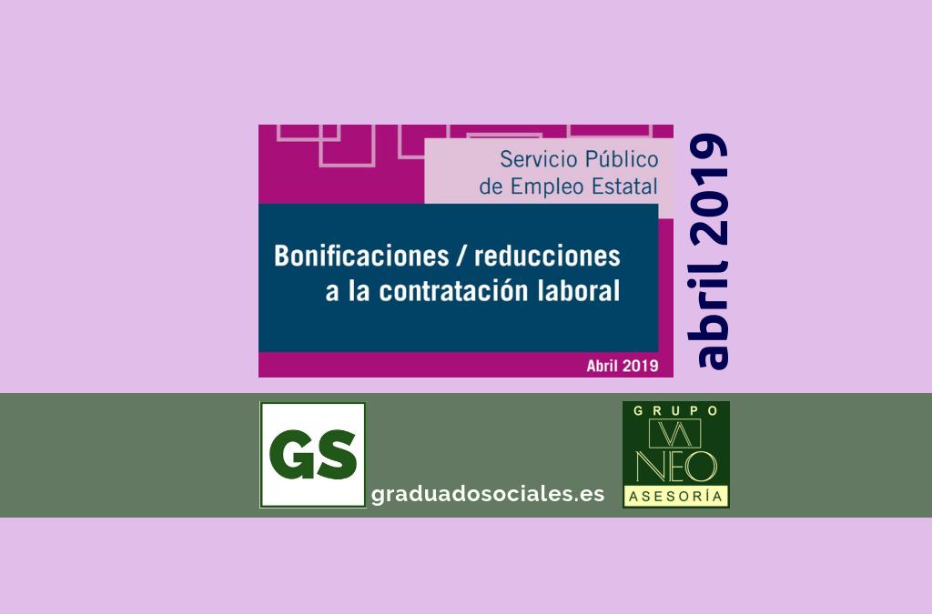bonificaciones_contratacion_laboral_abril_2019_sepe