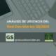Real Decreto-ley 30/2020 Análisis de urgencia