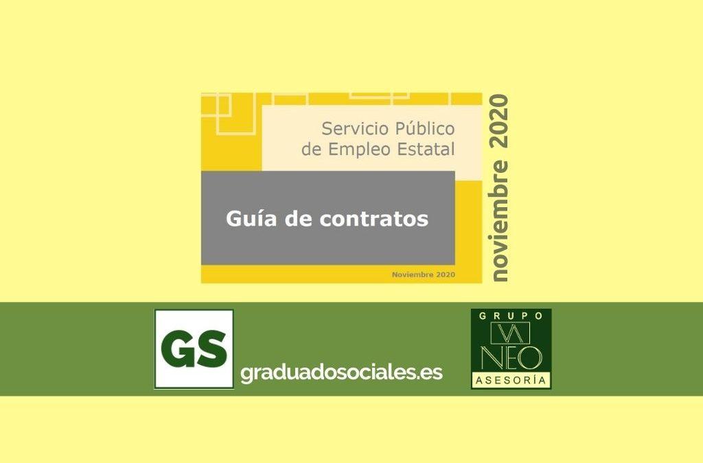 Guía de contratos de trabajo: NOVIEMBRE 2020