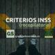 Criterios INSS (recopilatorio)