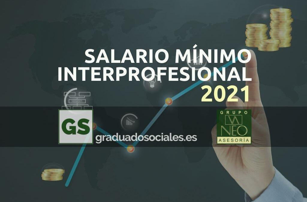 Salario Mínimo Interprofesional 2021 (SMI)